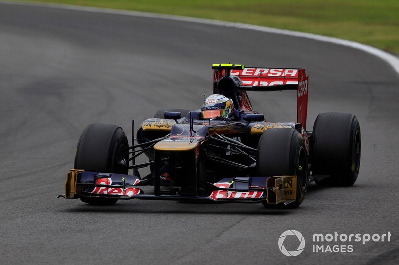 2012: Toro Rosso-Ferrari STR7