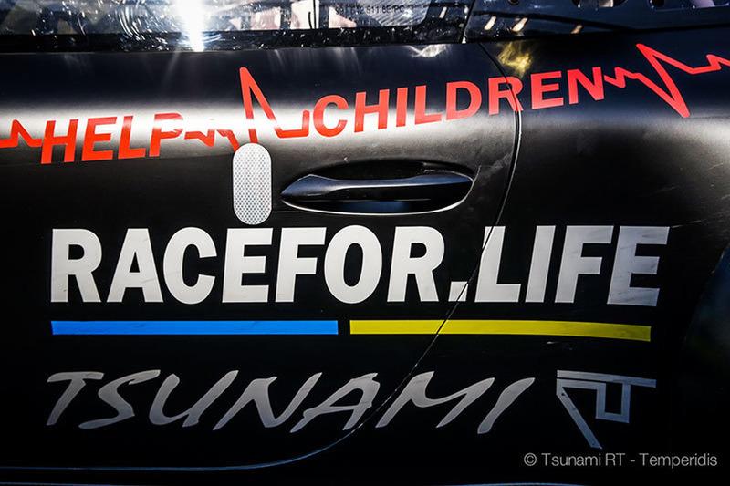 Команда Tsunami RT на 24 годинах Дубая підтримала благочинну акцію RACEFOR.LIFE