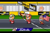 El final del GP de Valencia 2006, por 'MiniBikers'