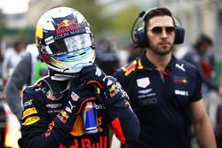 Daniel Ricciardo, Red Bull Racing RB14 Tag Heuer, on the grid