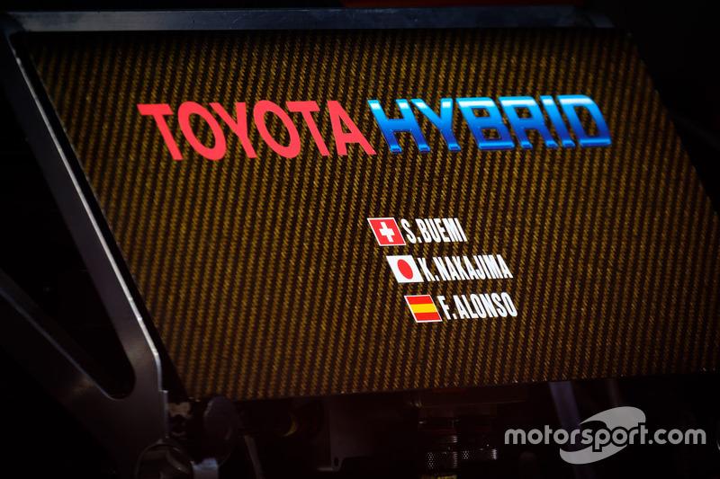 Logo de Toyota Gazoo Racing Toyota TS050