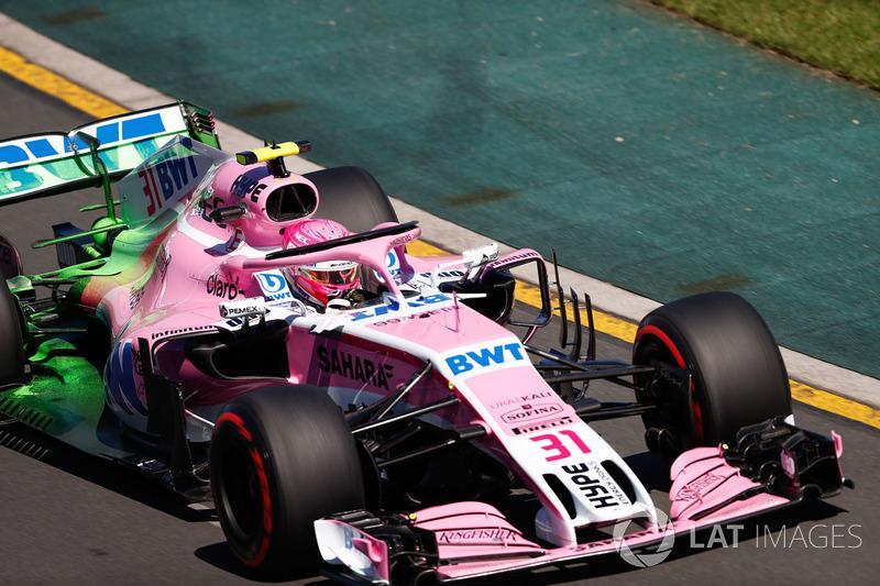 14. Эстебан Окон, Sahara Force India F1 VJM11
