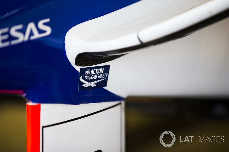 FIA Action for Road Safety sticker
