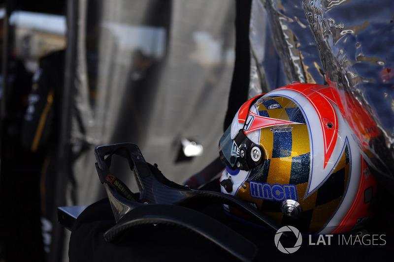 James Hinchcliffe, Schmidt Peterson Motorsports Honda casco