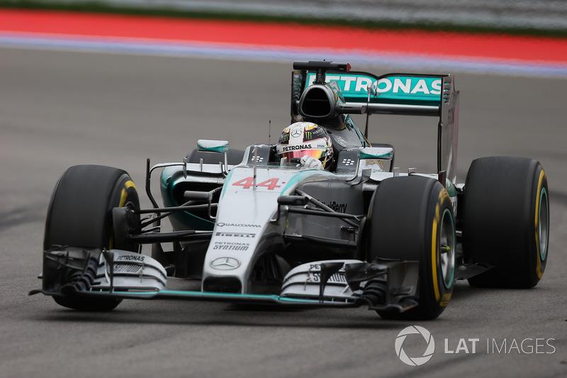 6. 2015 - Lewis Hamilton, Mercedes (80,2%)