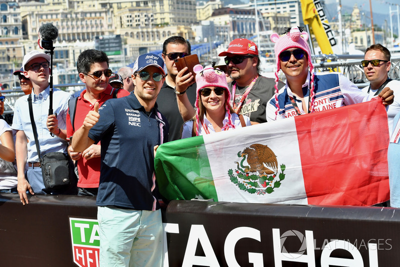 Sergio Perez, Force India and fans