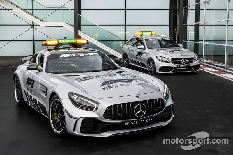 سيارة الأمان لموسم 2018