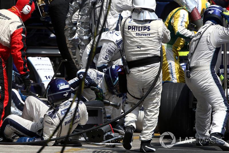 Kazuki Nakajima – GP do Brasil de 2007