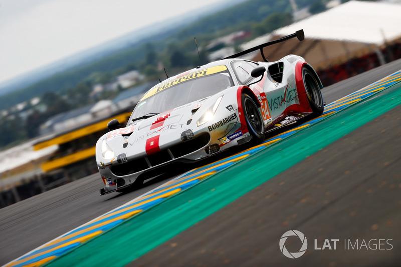 49. #54 Spirit of Race Ferrari 488 GTE