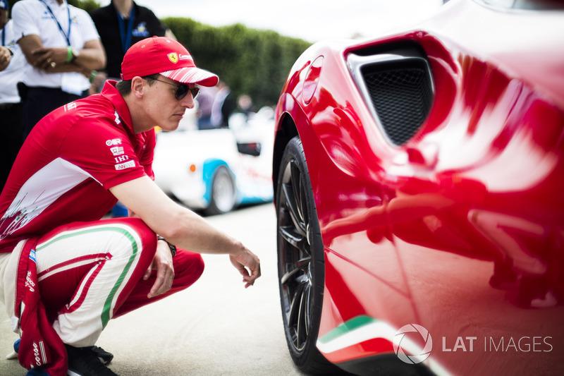 #51 AF Corse Ferrari 488 GTE EVO: James Calado