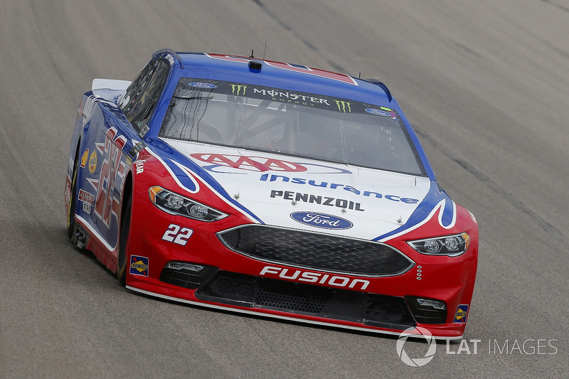 Joey Logano, Team Penske, Ford Fusion AAA Insurance