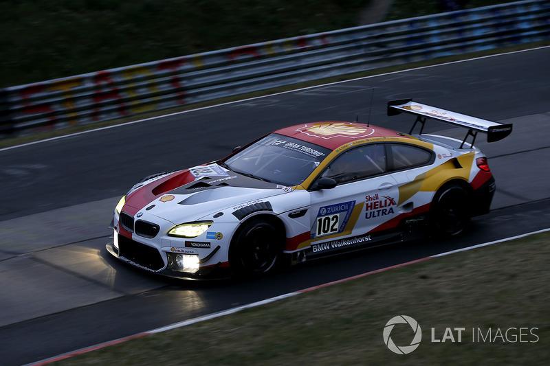 13. #102 Team BMW Shell Helix Walkenhorst Motorsport BMW M6 GT3: Augusto Farfus, Markus Palttala, Christian Krognes, Fabian Schiller