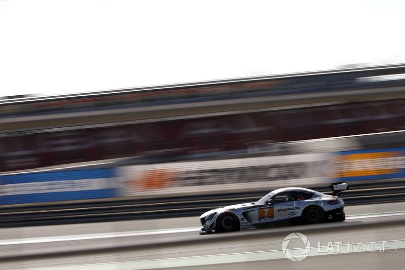 #7 Black Falcon Mercedes-AMG GT3: Kriton Lendoudis, Rui Aguas, Saud Al Faisal, Saeed Al Mouri