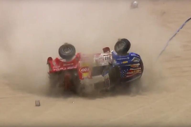 Роберто Рекальде и Хуан Хосе Санчес, RR Dakar Team, Isuzu D-MAX (№397)