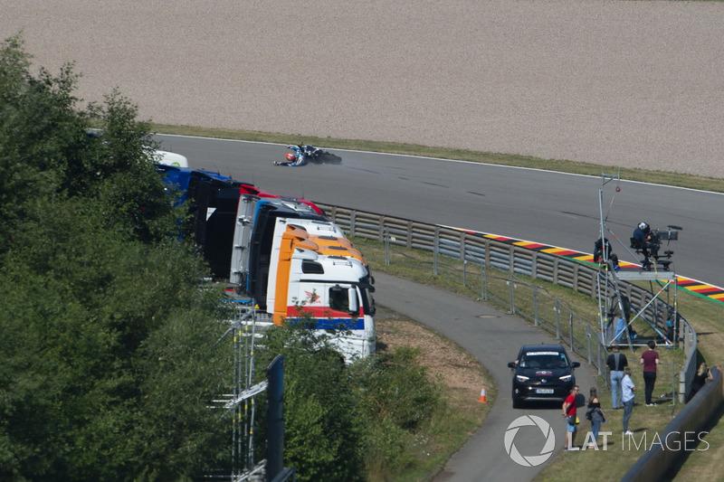 Tito Rabat, Avintia Racing, crash