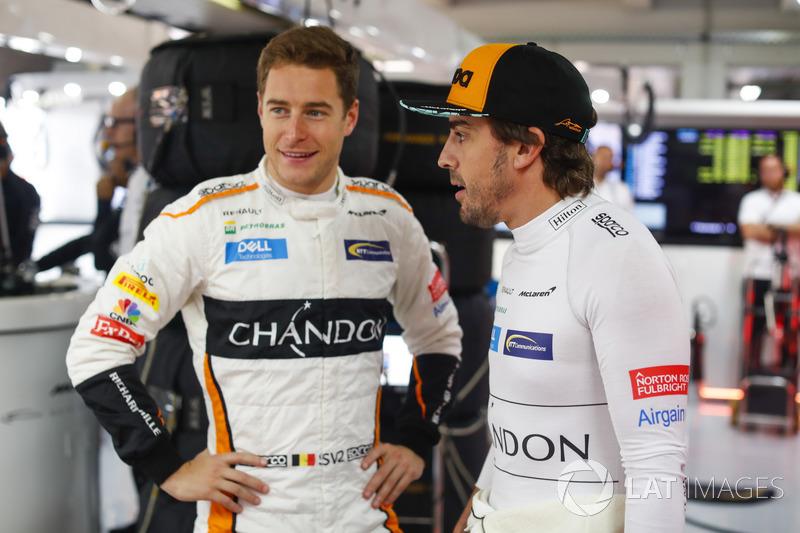 Stoffel Vandoorne, McLaren, Fernando Alonso, McLaren