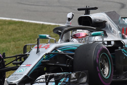 Lewis Hamilton, Mercedes-AMG F1 celebra