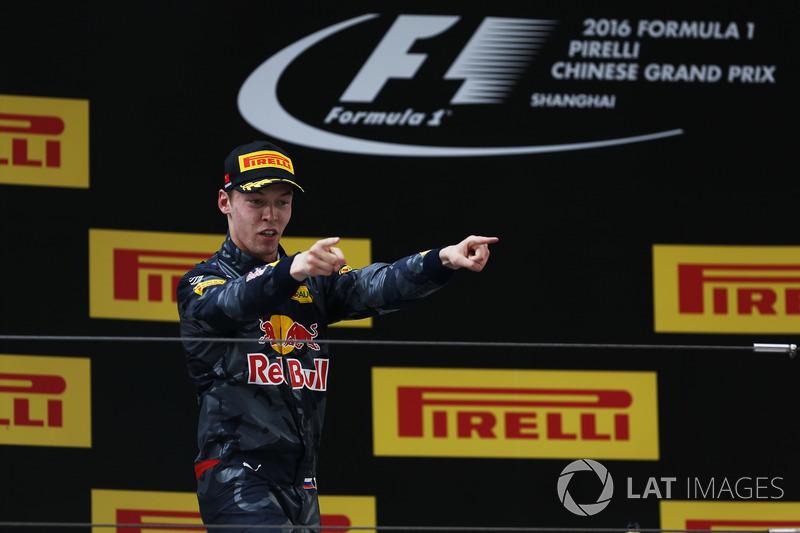 Daniil Kvyat, Red Bull Racing, third place
