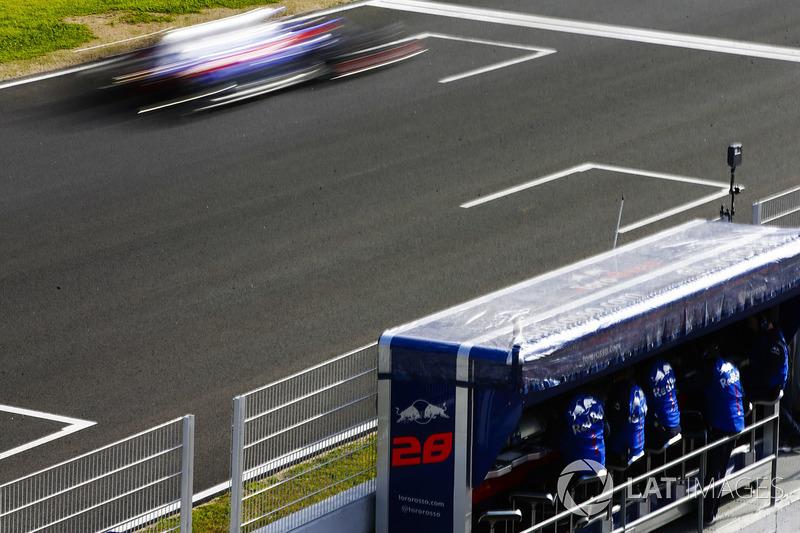 Toro Rosso, хороший прогноз: станет одним из лидеров середины пелотона