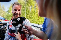 Second place Mads Ostberg, Citroën World Rally Team