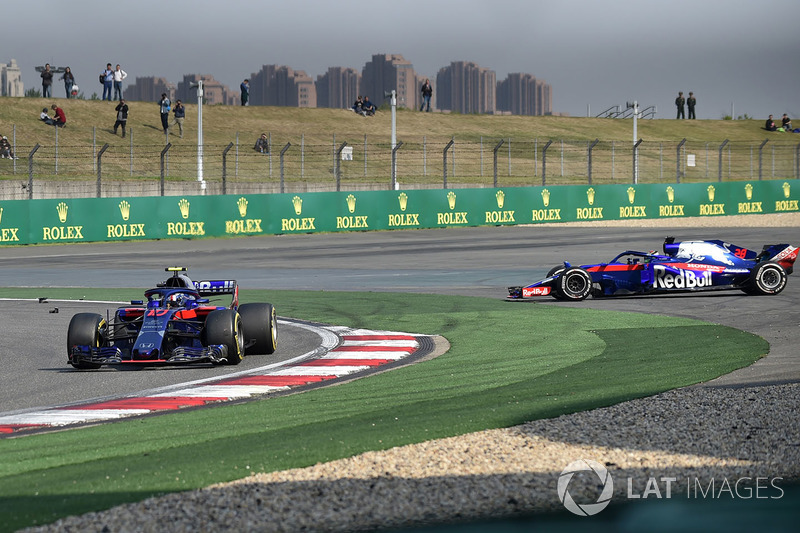 GP Tiongkok - Pierre Gasly/Brendon Hartley (balapan)
