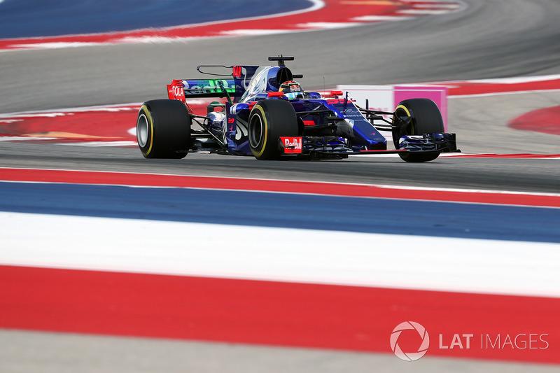 19: Brendon Hartley, Scuderia Toro Rosso STR12 (inc 25-place grid penalty)