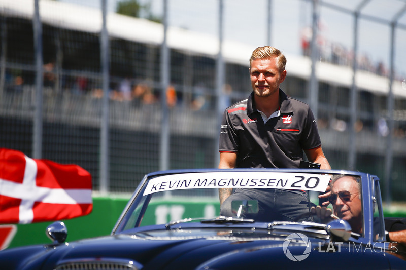 Kevin Magnussen, Haas F1 Team, parade pembalap