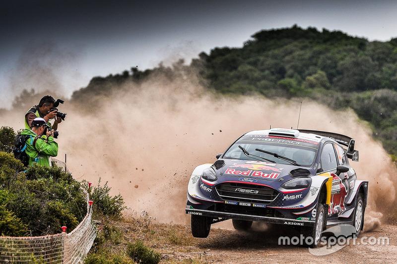 Elfyn Evans, Phil Mills, M-Sport Ford WRT Ford Fiesta WRC