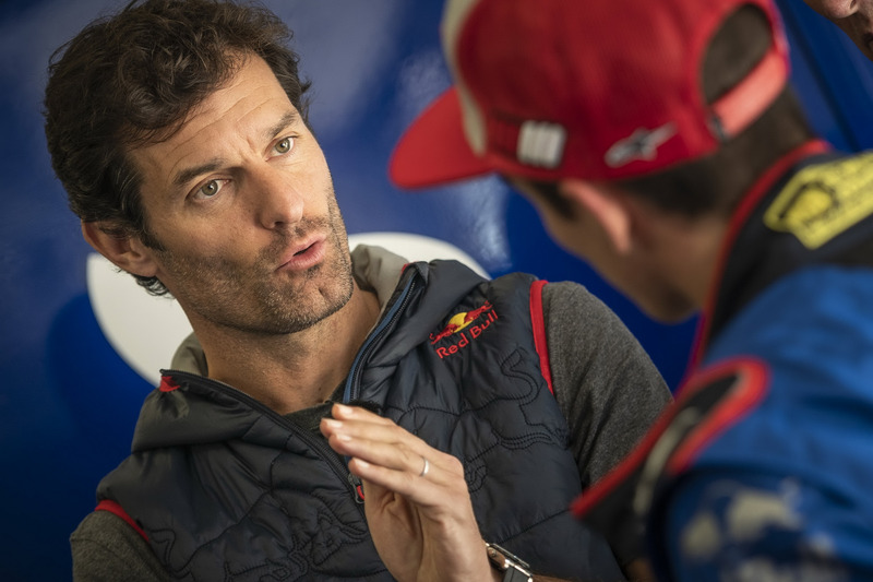 Mark Webber y Marc Márquez
