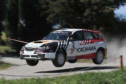 Luigi Ricci, Christine Pfister, Subaru Sti N4 #02