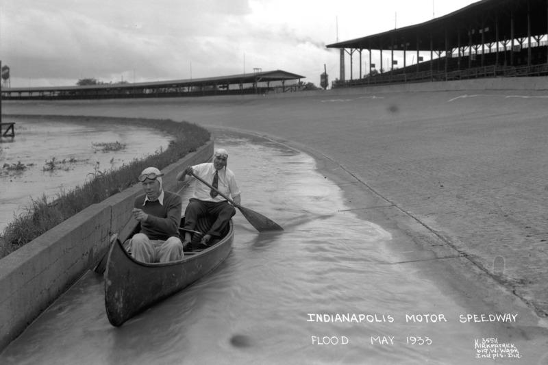 1933: Überflutung in Indy