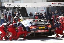 Pit stop Adrien Tambay, Audi Sport Team Rosberg, Audi RS 5 DTM