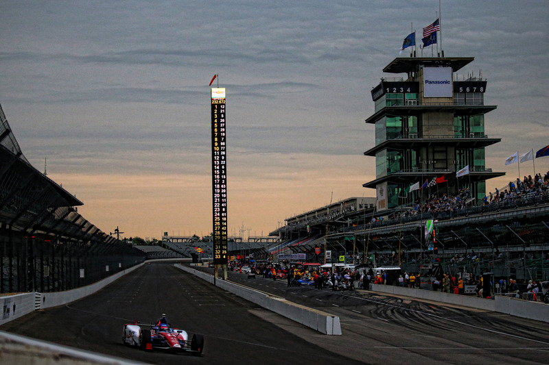 Sonnenuntergang in Indy