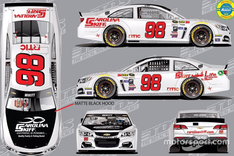 Cole Whitt esquema retro