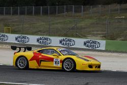 Ferrari 458 Italia-GTCup #161 Master-KR Racing, Deodati-Romani