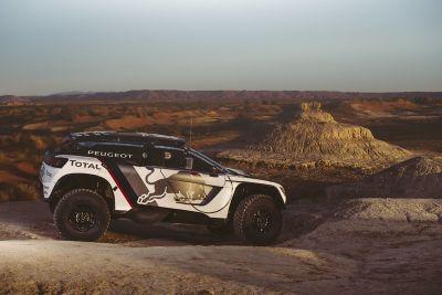Peugeot, test in Marocco