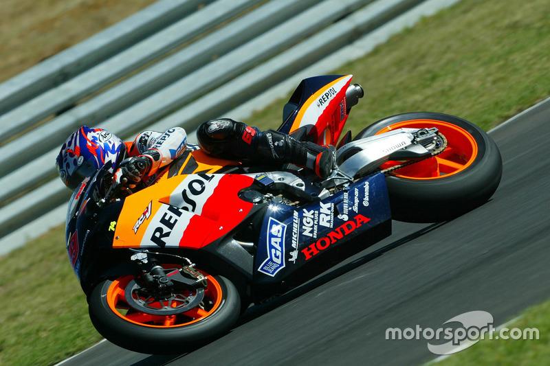 Nicky Hayden, 2003 Honda RCV211