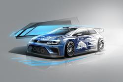 Дизайн Volkswagen Polo WRC 2017