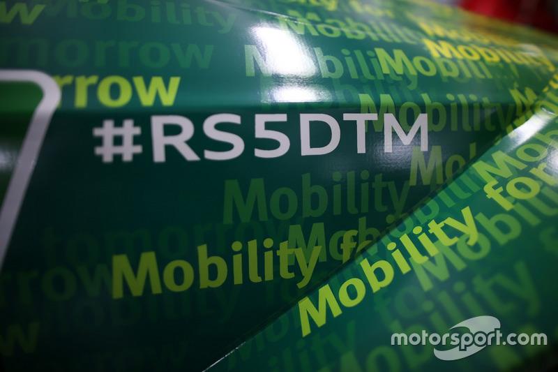 Detail, Mike Rockenfeller, Audi Sport Team Phoenix, Audi RS5 DTM