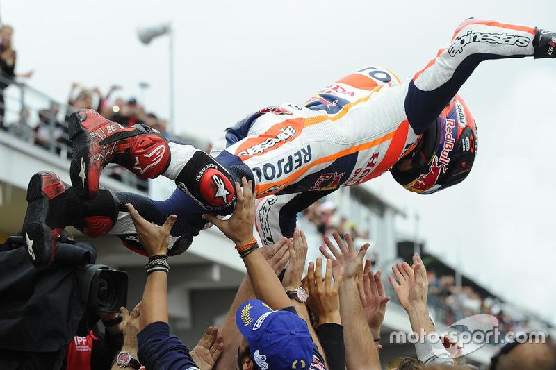Marc Marquez – Honda – Sieger