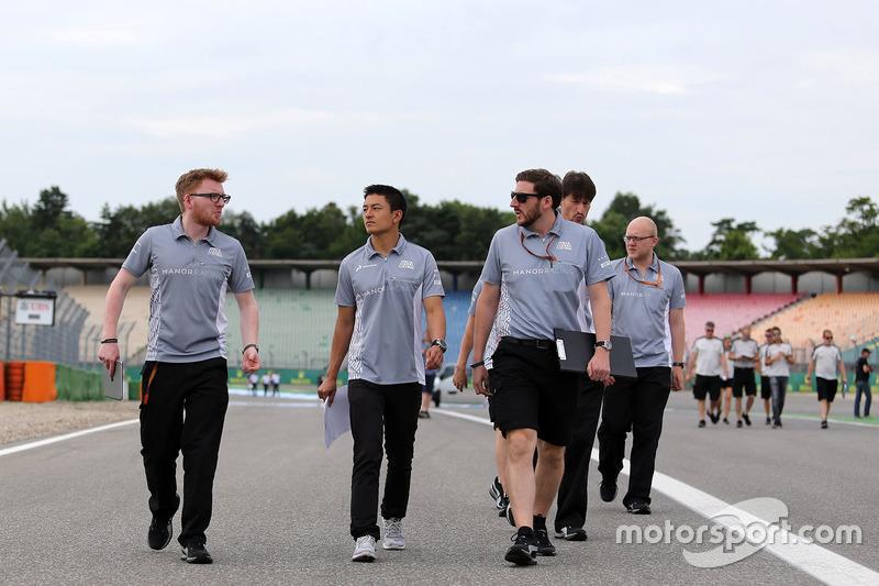 Rio Haryanto, Manor Racing