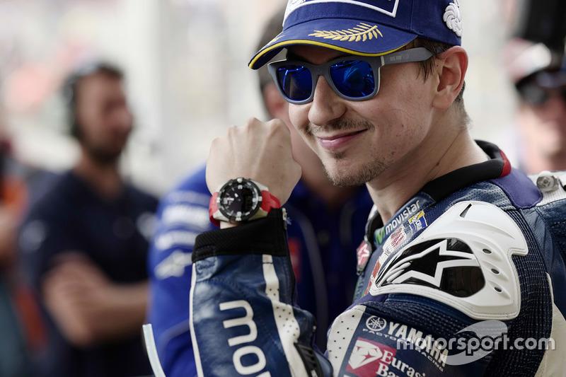 Поул-позиція Хорхе Лоренсо, Yamaha Factory Racing