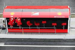 Boxenstand, Ferrari