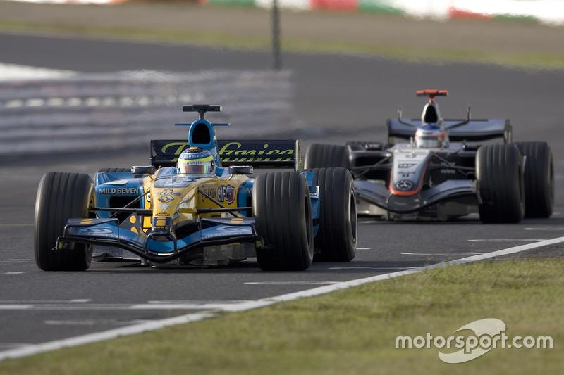 7 место. Гран При Японии-2005, «Сузука»