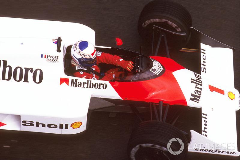 Ален Прост, шесть побед на Гран При Бразилии