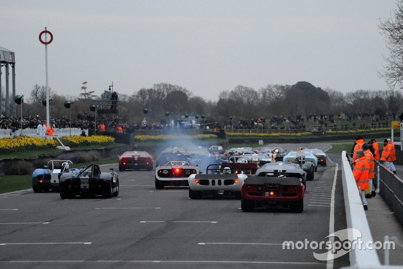Surtees Trophy, Start