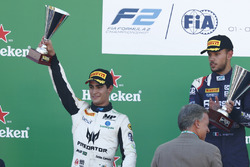 Podium: Sergio Sette Camara, MP Motorsport