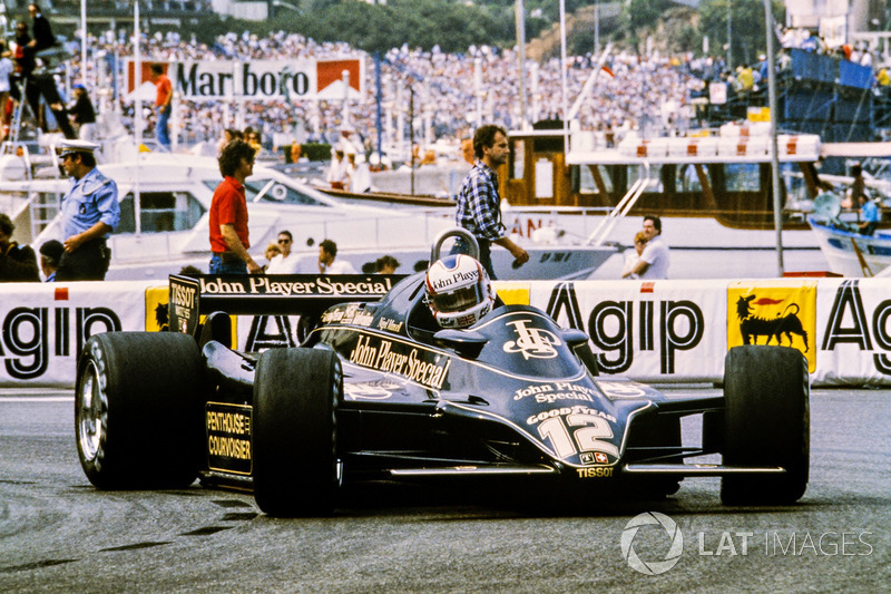 Nigel Mansell, Lotus 91-Ford
