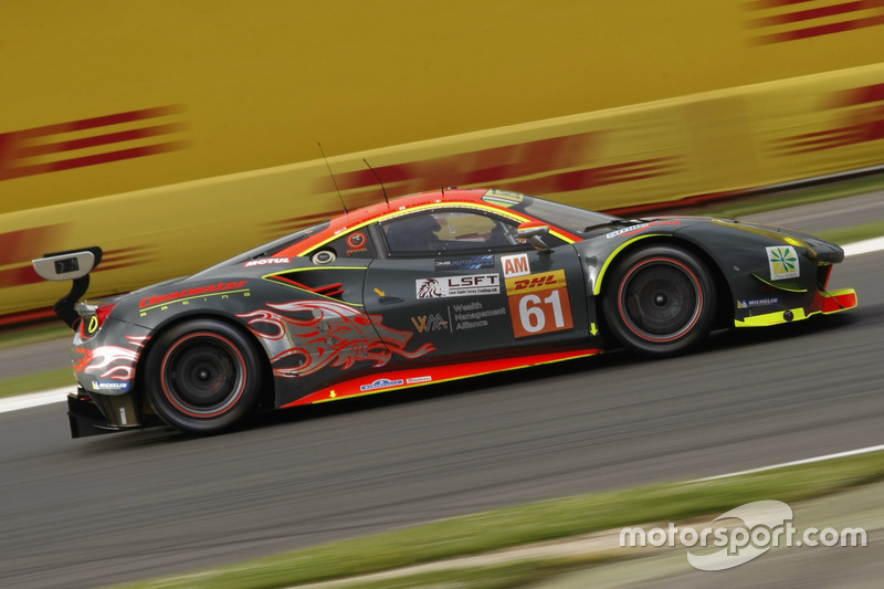 1. GTE-Am: #61 Clearwater, Ferrari 488 GTE