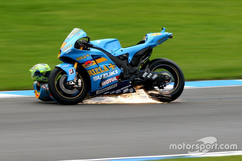 MotoGP. Гран При Великобритании, Крис Вермелен, 2007 год